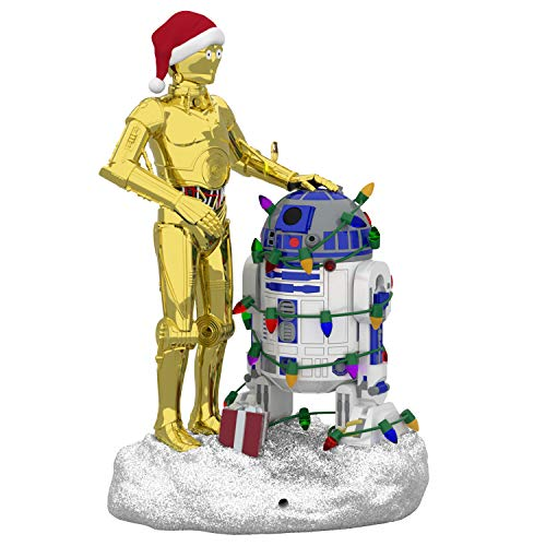- Hallmark Keepsake Keepsake Ornament, C3PO and R2D2