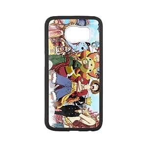 ONE PIECE Samsung Galaxy S6 Cell Phone Case Black xlb-328218