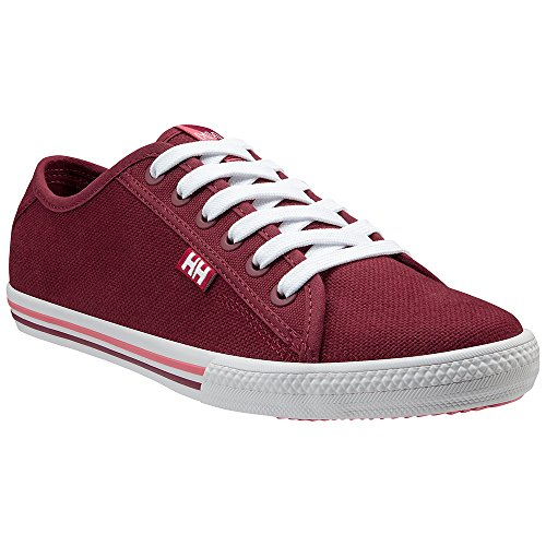 Helly Hansen 2018 Women's Oslofjord Canvas Shoe - Plum/Persian RED/Shell - 10836_655 (Plum/Persian RED/Shell - EU 41/US 9.5) (Helly Hansen Womens Shoes)