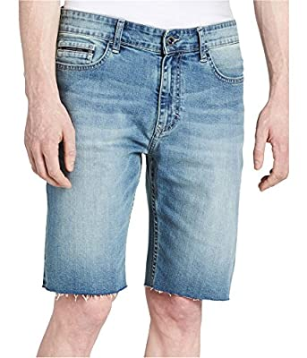 Calvin Klein Mens Stretch Casual Denim Shorts