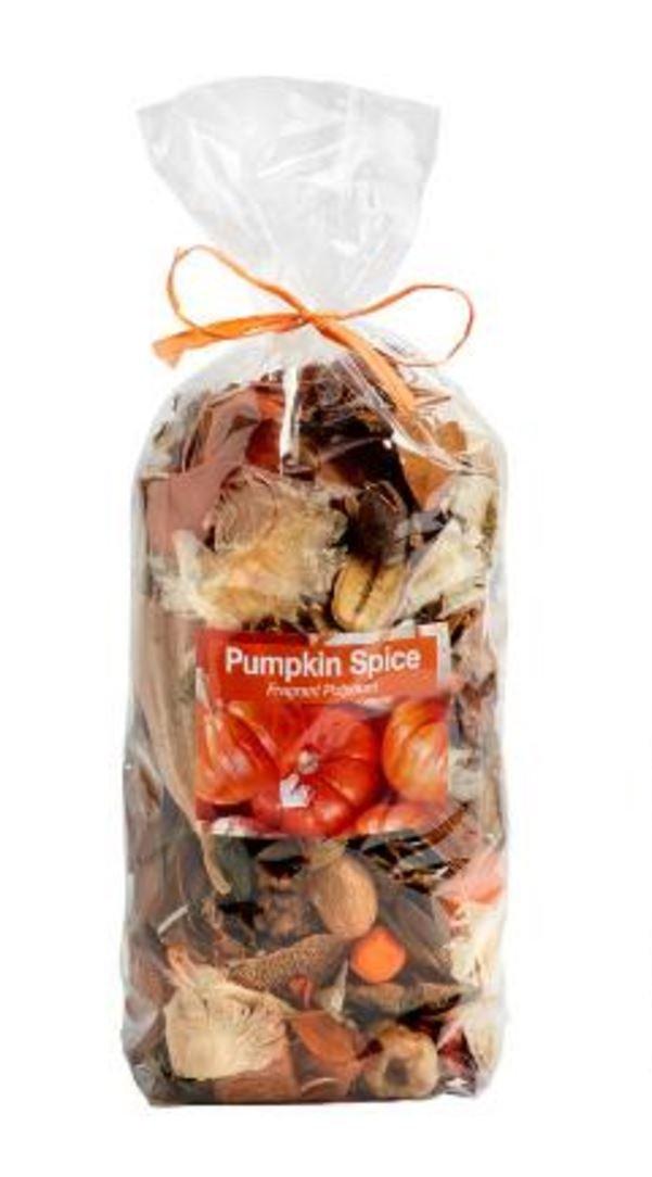 Pumpkin Spice Fresh Fall Botanical Potpourri 14 Oz Bag Jodhpuri Inc