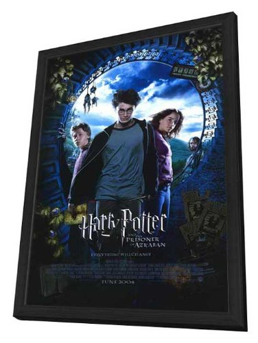 Harry Potter and the Prisoner of Azkaban - 27 x 40 Framed Movie Poster by Movie Posters