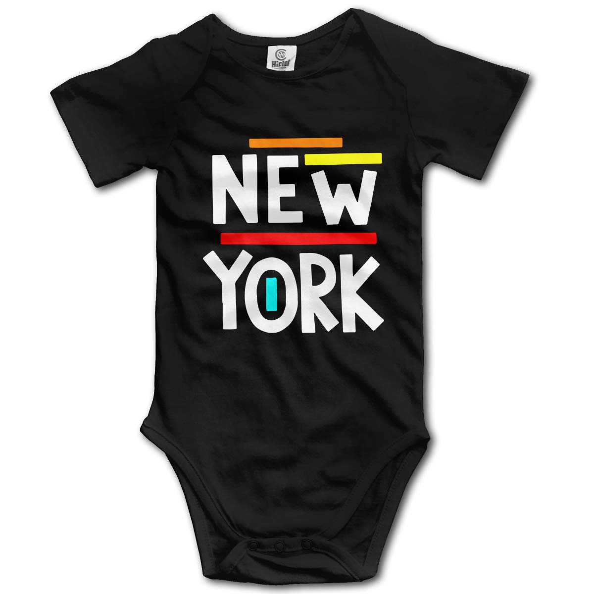 New York Suit 6-24 Months Baby Short Sleeve Baby Clothes Climbing Clothes