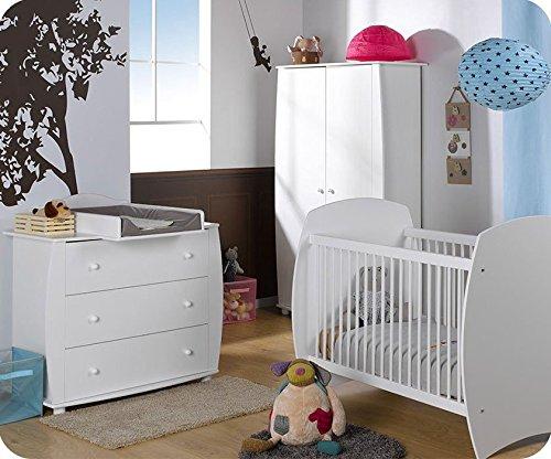 Babyzimmer komplett Medea weiß