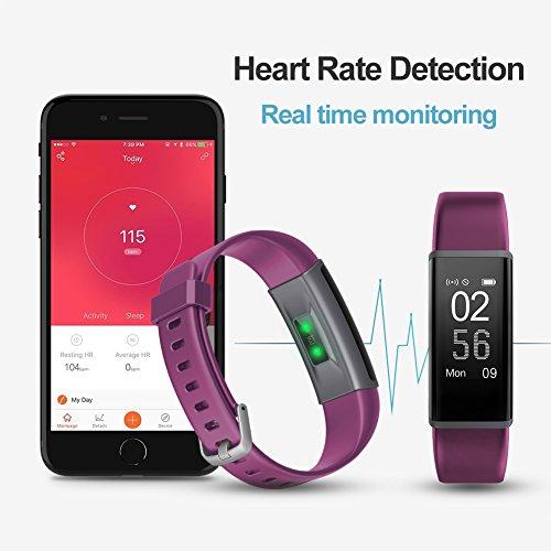 Lintelek Fitness Tracker Customized Activity Tracker With