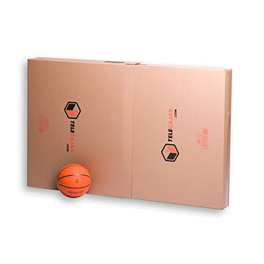 (5X) Cajas para Cuadros, Espejos, Televisor | 81x13x130 cms | Onda Doble Resistente | TeleCajas