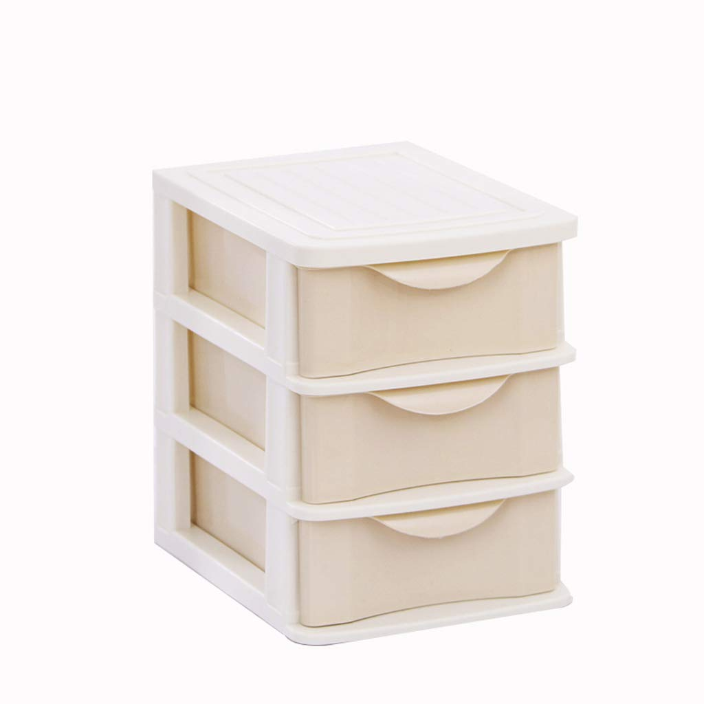 Archivadores HUXIUPING Caja de Almacenamiento Almacenamiento Almacenamiento Tipo de cajón Cosméticos Barra de Labios Caja de Almacenamiento Oficina Misceláneas Almacenamiento Gabinete Plástico (Color : Caqui) 4ea820