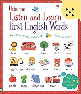 Listen And Learn First English Words: With over 120 words