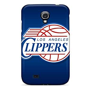 Galaxy S4 CUx6413eFRO Special Colorful Design Los Angeles Clippers Pattern Durable Hard Phone Cover -no1cases