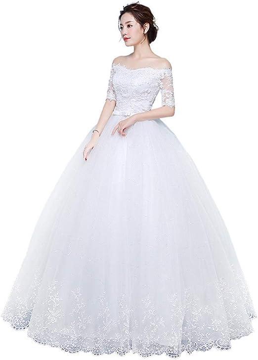 LiChaoWen Vestido de Novia Vestido de Novia Vestido De Falda De ...