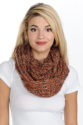 Basico Women Warm Circle Ring Infinity Scarf Neck Warmer ** Various Colors **