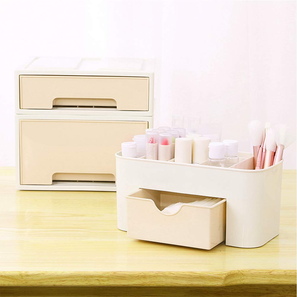 multifunzione Organizer per trucchi in plastica polipropilene per scrivania cassetti e cancelleria A Amandia