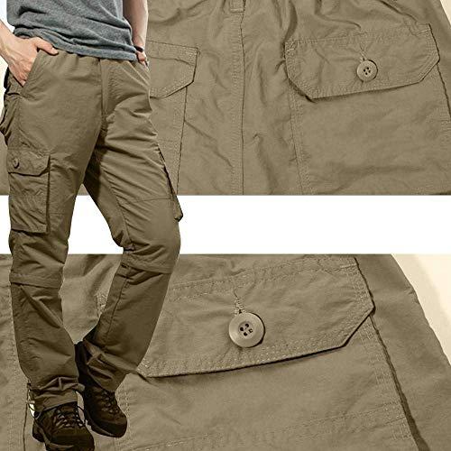 Da Army Pantaloni Huixin Jeans Uomo Cargo Sportivi Field Rangerhose Skinny Chino Esterno Khaki nR6wxgZwq