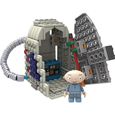 K'nex Family Guy-Stewie and Time Machine Building Set: Toys & Games