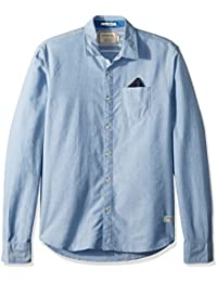 Men's Oxford Shirt With Chestpocket and Detachable Pochet
