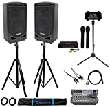 "Best Samson Technologies PA Systems - Samson 8"" Portable YouTube Karaoke Machine/System+2 Mics+8-Ch Mixer+Tablet Review"