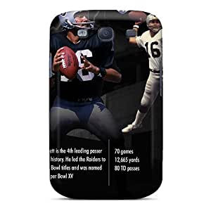 Premium Oakland Raiders Back Cover Snap On Case For Galaxy S3
