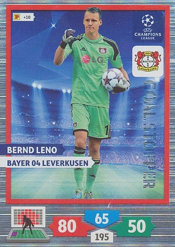 Champions League Goals - Champions League Adrenalyn XL 2013/2014 Bernd Leno 13/14 Goal Stopper