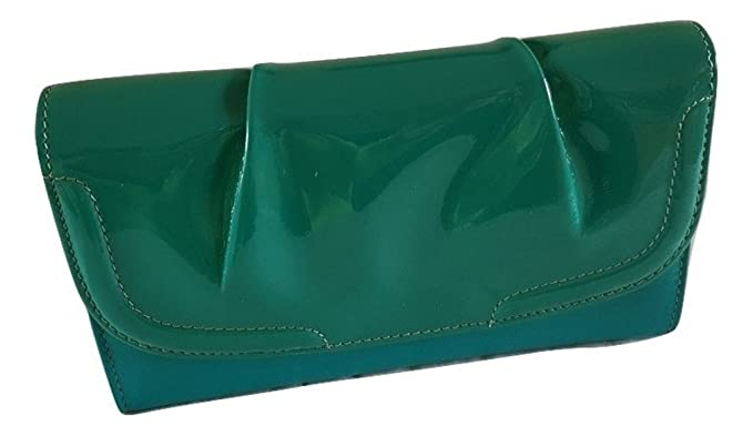 Golunski Ladies Womens Jade Green Patent