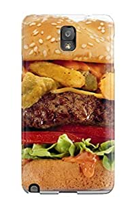 New Fashion Premium Hard Case Cover For Galaxy Note 3 - The Ultimate Burger