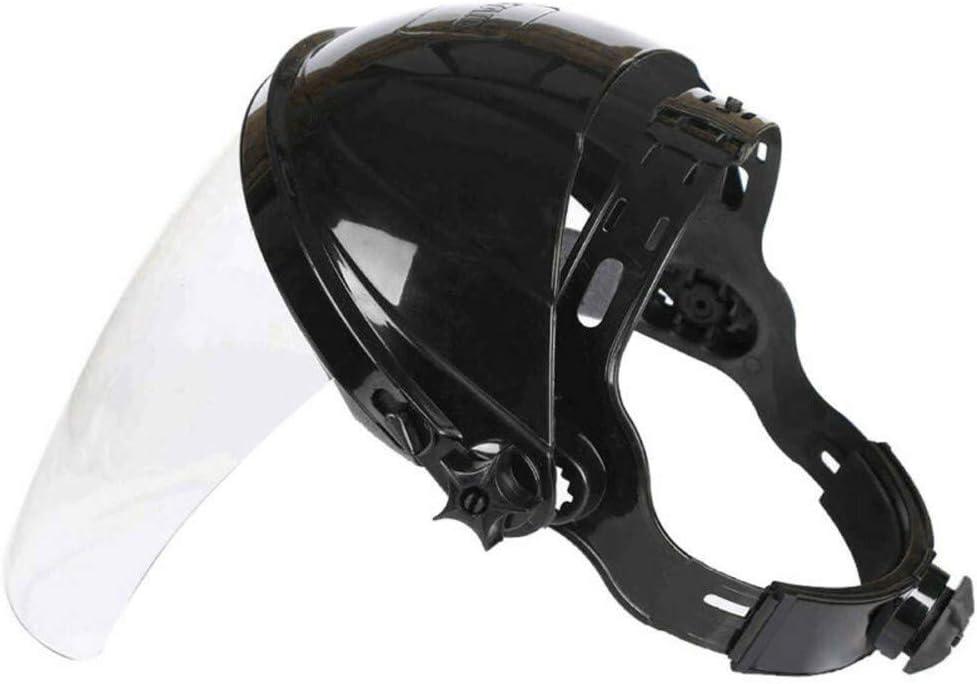 Suszian Viseras de la cubierta facial, seguridad Rectificado transparente Protección facial Máscara de pantalla Visera Protección ocular para protección de la cara del ojo Uso en exteriores,seguridad