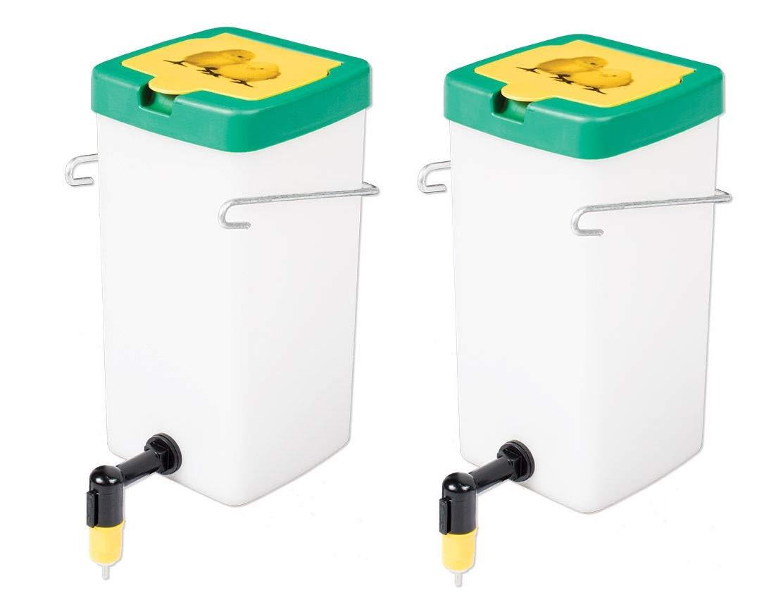 Premier 1 Supplies Chick Nipple Waterer - 1 Litre Capacity - Package of 2 by RentACoop