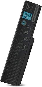 New PA3817U-1BRS PA3818U-1BRS PA3819U-1BRS Laptop Battery Replacement for Toshiba Satellite L755 P755 P745 C655 L645D C675 C675D L645 L655 L655D L675 L675D L745 P775 M645 A660 A655 PA3817U Series