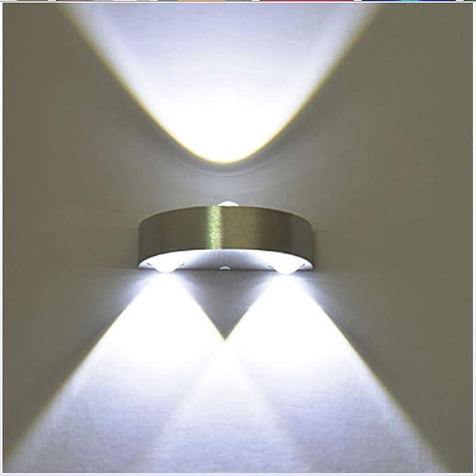 Amazon.com: YAOHM Moderno 3W LED de pared Sconce interior ...