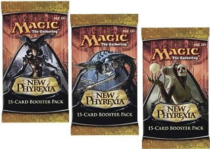 Amazon.com: 3 (Tres) paquetes de tarjetas de Magic the ...