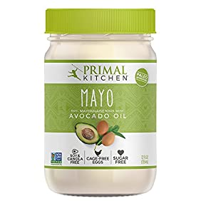 Primal Kitchen Avocado Oil Mayonnaise, 12 Ounce (355 ML), Paleo, Whole30