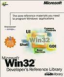 Microsoft Win32 Developer's Reference Library (Dv-Microsoft Professional) (1999-12-01)