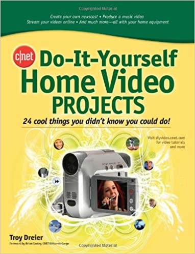 Amazon cnet do it yourself home video projects 24 cool things cnet do it yourself home video projects 24 cool things you didnt know you could do 1st edition solutioingenieria Images