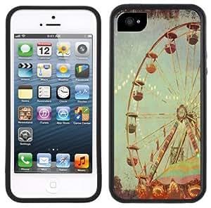 Carnival Ferris Wheel Vintage Handmade iPhone 5C Black Case