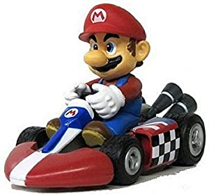 Nintendo mario kart wii pull back car version for Coupe miroir mario kart wii