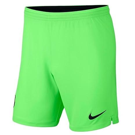 9542d65b7 Amazon.com   Nike 2018-2019 Barcelona Away Goalkeeper Shorts (Green)    Clothing
