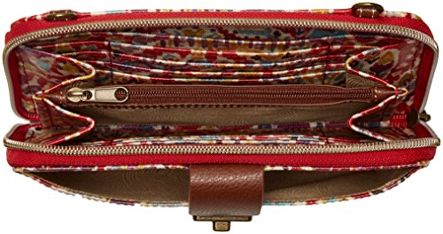 Red Sakroots Beauty Smartphone Large Crossbody Sweet Brave qqxIBgfw1