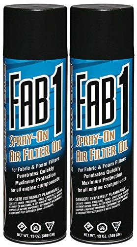 Maxima 61920-2PK Fab1 Air Filter Aerosol Spray, 26 fl. oz., 2 Pack