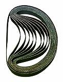 Astro BSP120 120-Grit 3/8-Inch by 13-Inch Sanding Belt, 10-Piece