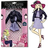 """Fashionette - Look """"Lily"""" - Outfits for 11.5 inch mannequin dolls (28-30cm) : Barbie, Sindy, Disney Princesses, etc..."""