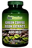 Green Coffee Bean Extract 400 Mg by TNVitamins 60 Capsules