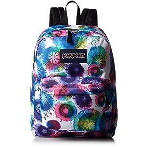 Jansport Superbreak Backpack Multi Tie Dye Swirls