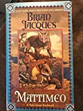 mattimeo a tale from redwall paperback brian jacques new york timmes best selling series