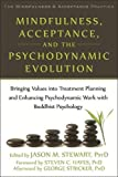 img - for Mindfulness, Acceptance, and the Psychodynamic Evolution: Bringing Values into Treatment Planning and Enhancing Psychodynamic Work with Buddhist ... Mindfulness and Acceptance Practica Series) book / textbook / text book