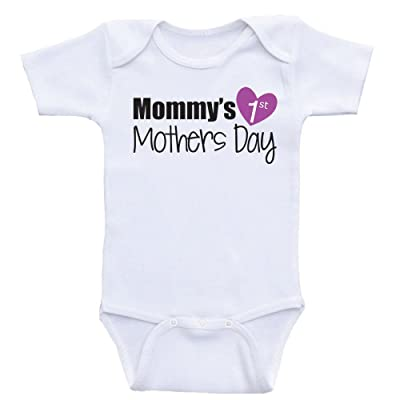 """1st Mothers Day Baby Clothes """"Mommy's 1st Mothers Day"""" Baby Clothes"""