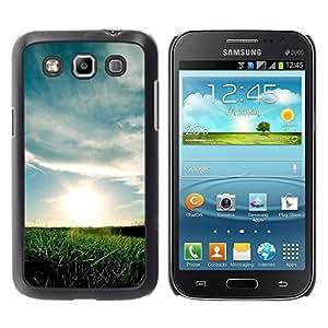TopCaseStore / la caja del caucho duro de la cubierta de protección de la piel - Nature Sunset Fields - Samsung Galaxy Win I8550 I8552 Grand Quattro