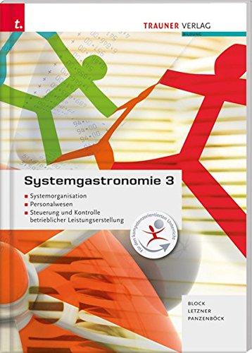 Systemgastronomie 3 Systemorganisation Personalwesen Steuerung und Kontrolle betrieblicher Leistungserstellung