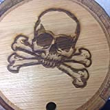 Custom Engraved 10 Liter Oak Barrels for Aging Whiskey, Rum, Tequila, Bourbon, Scotch and Wine (10 Liter)