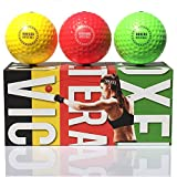 TEKXYZ Reflex Ball Upgraded Set - Comfortable Headband with 3 React Reflex Balls, Great for Reflex, Timing, Accuracy, Focus and Hand-Eye Coordination Training for Kids, Adults, Men, and Women