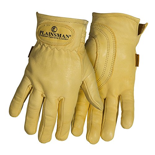 Plainsman Goatskin Cabretta Leather Gloves S-XL (Large)