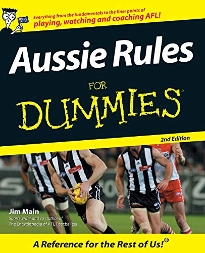 Aussie Rules For Dummies Australian Football League Rules